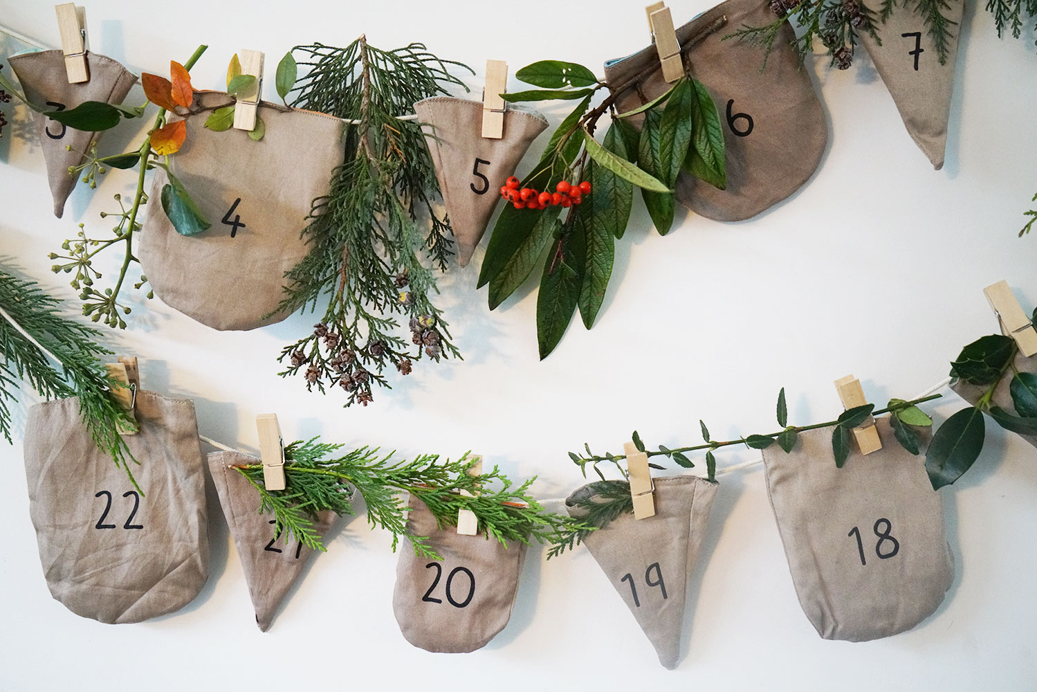 Fabelab advent activity calendar