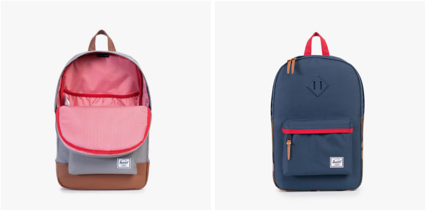 Herschel kids backpacks