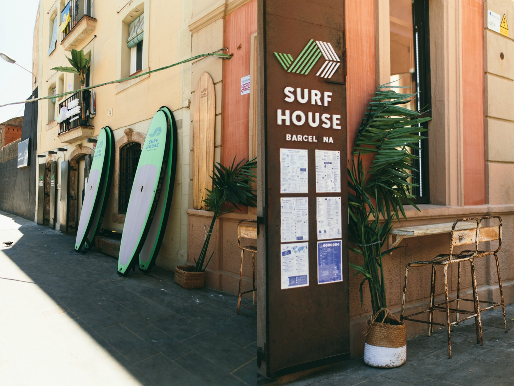 Claudia Sanchiz Surf House Barcelona 10