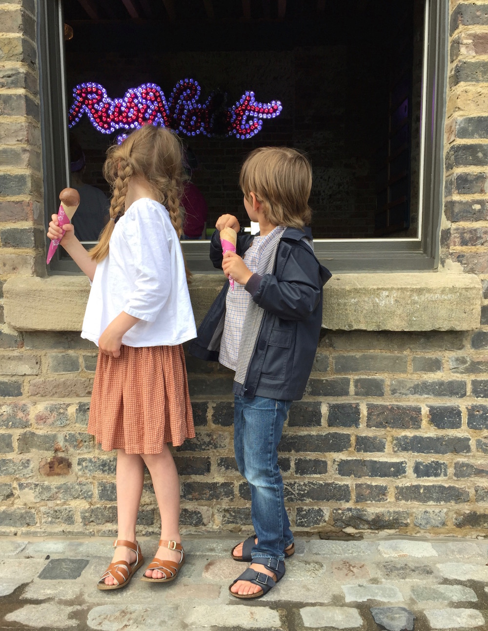 Ice creams at Ruby Violet