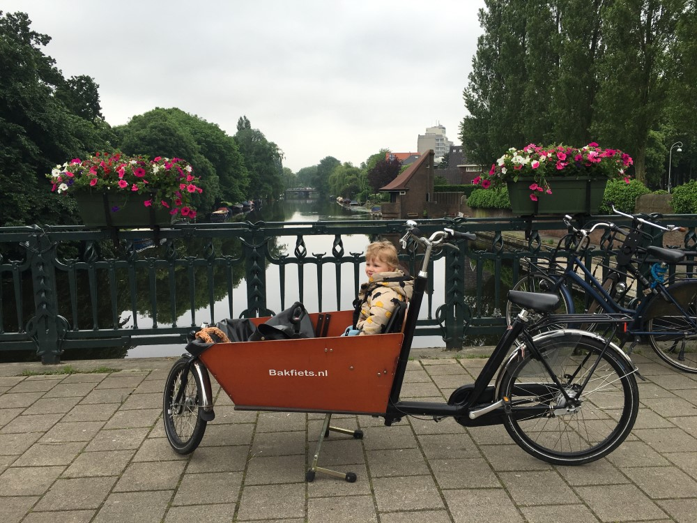 bakfiets amsterdam