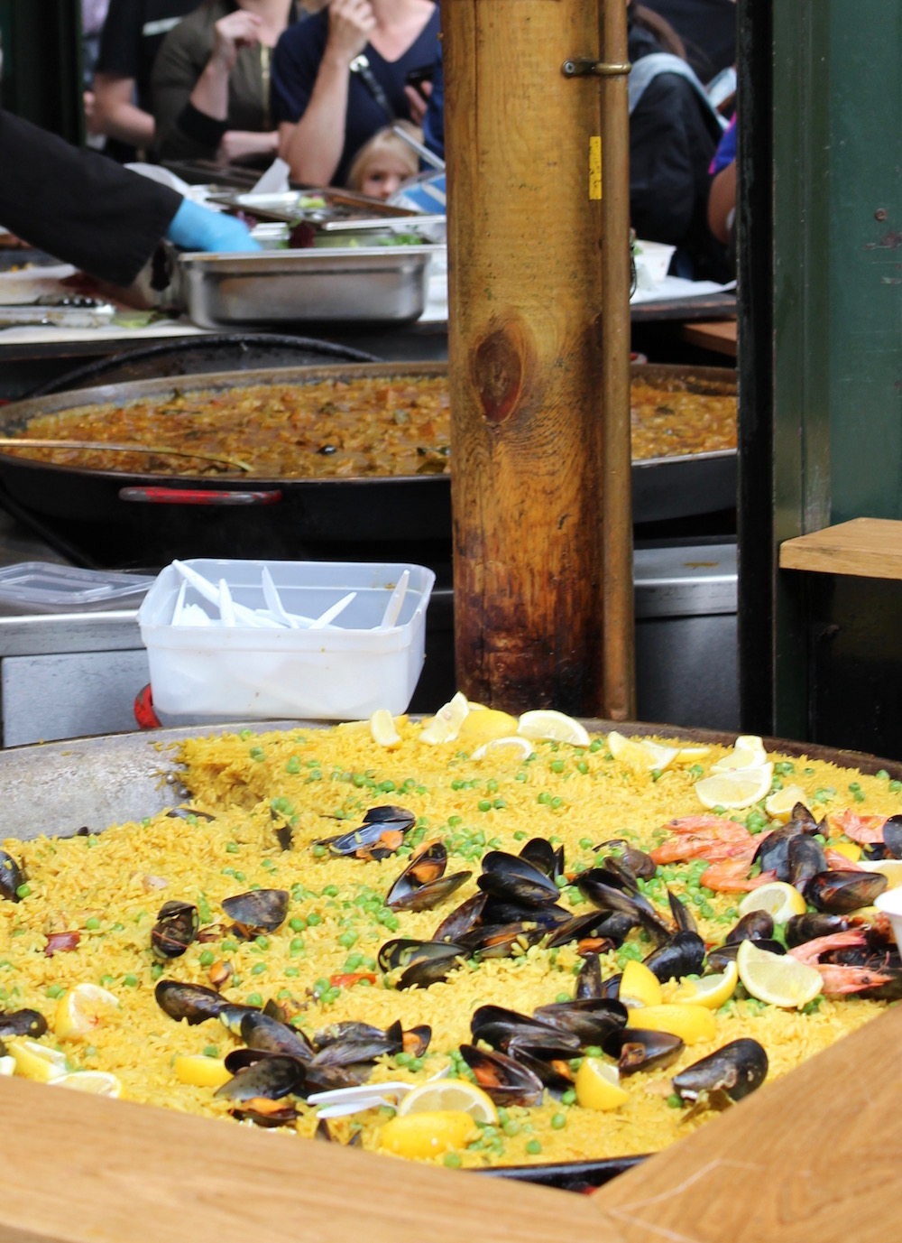 Borough Market Paella Stall