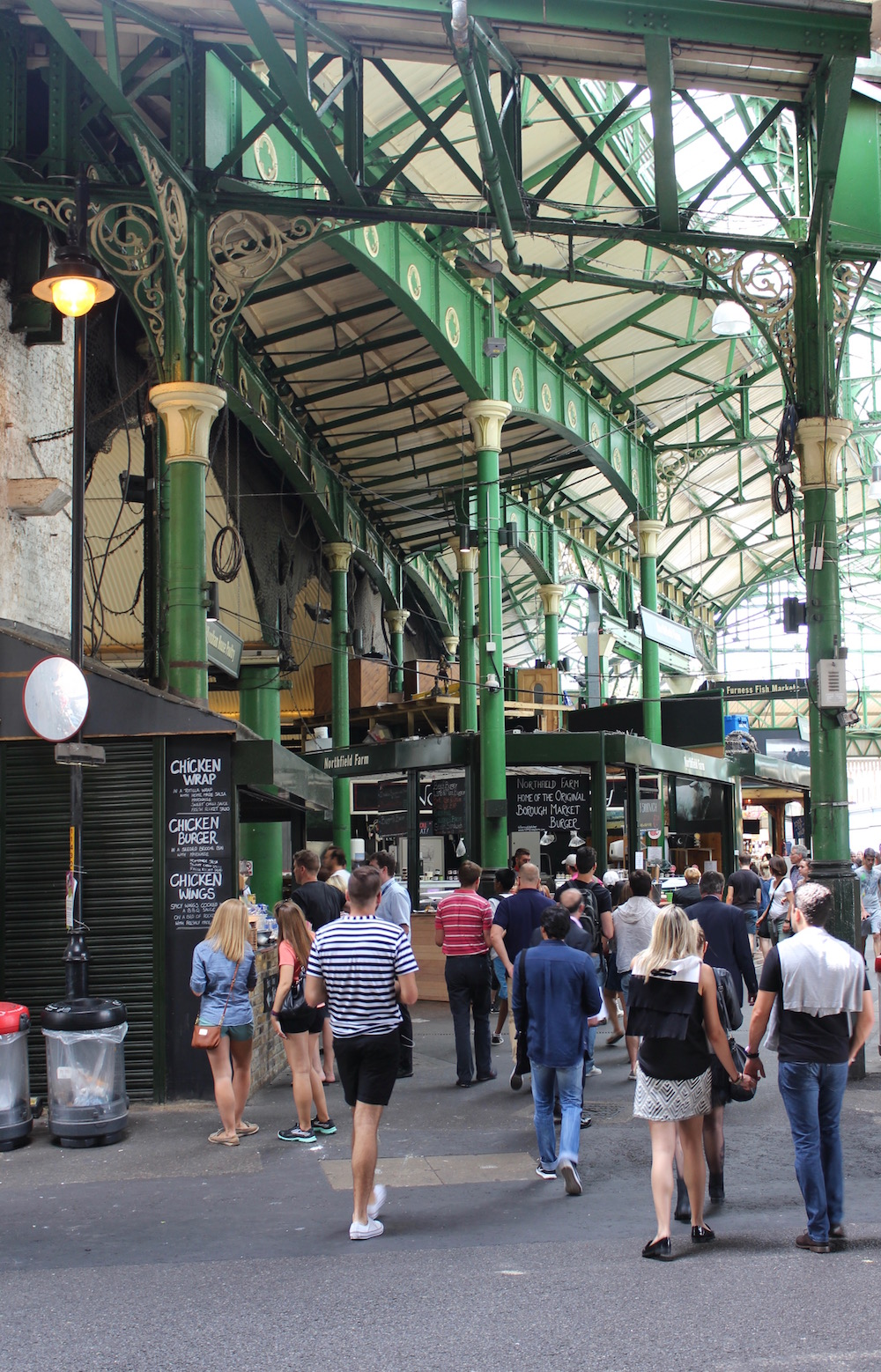 Borough Market interior