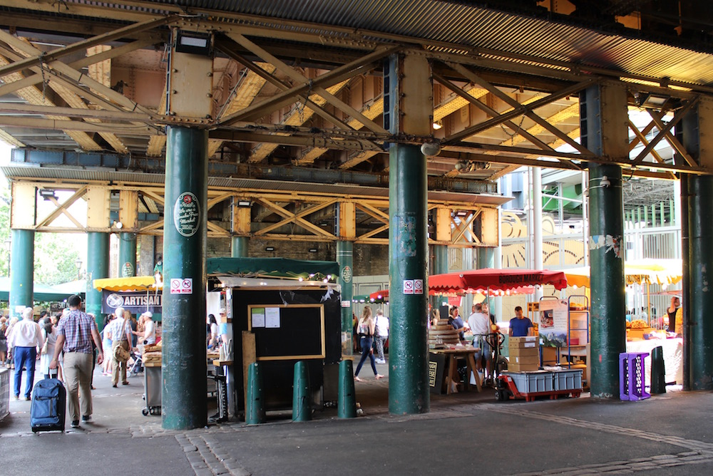 Borough Market stalls