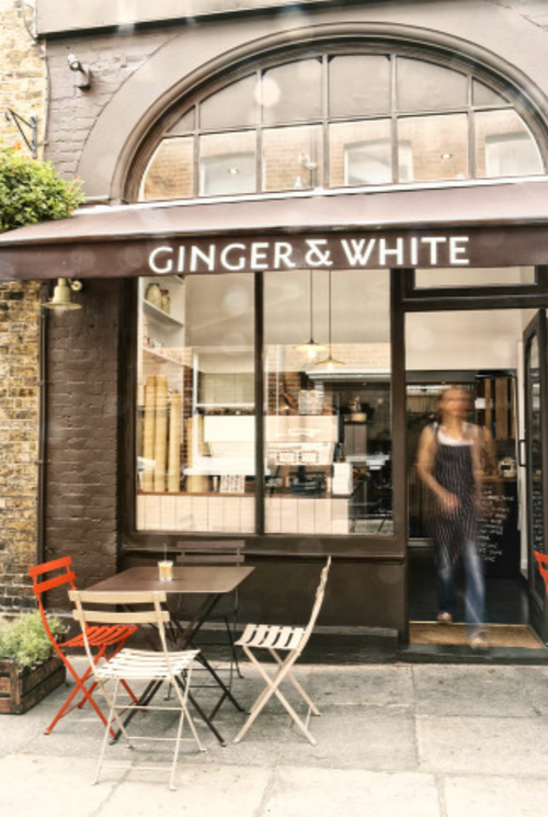 Ginger and White cafe