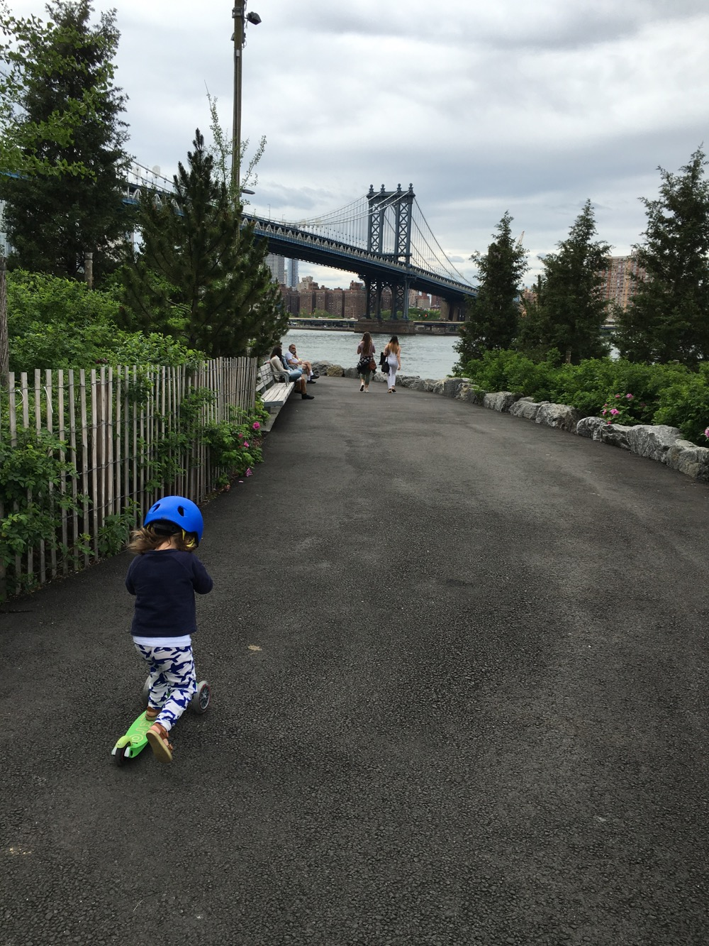 Brooklyn Bridge Park 1 - Babyccino Kids NYC