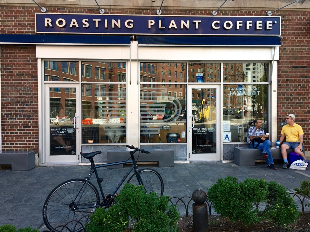 Roasting Plant Coffee - Babyccino NYC Guide