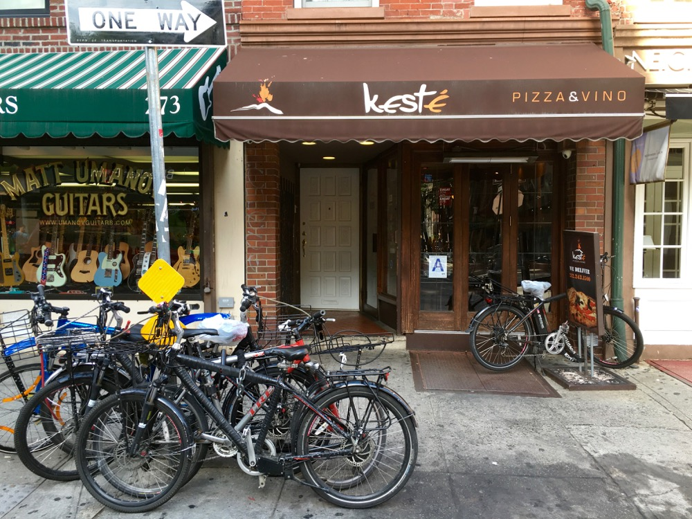 Keste pizza - Babyccino NYC Guide