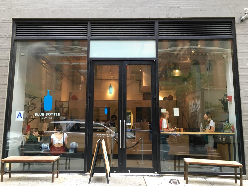 Blue Bottle Coffee - Babyccino NYC Guide