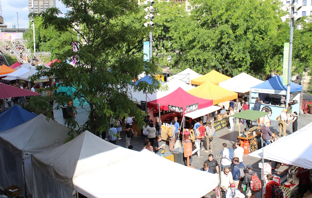 Southbank food market