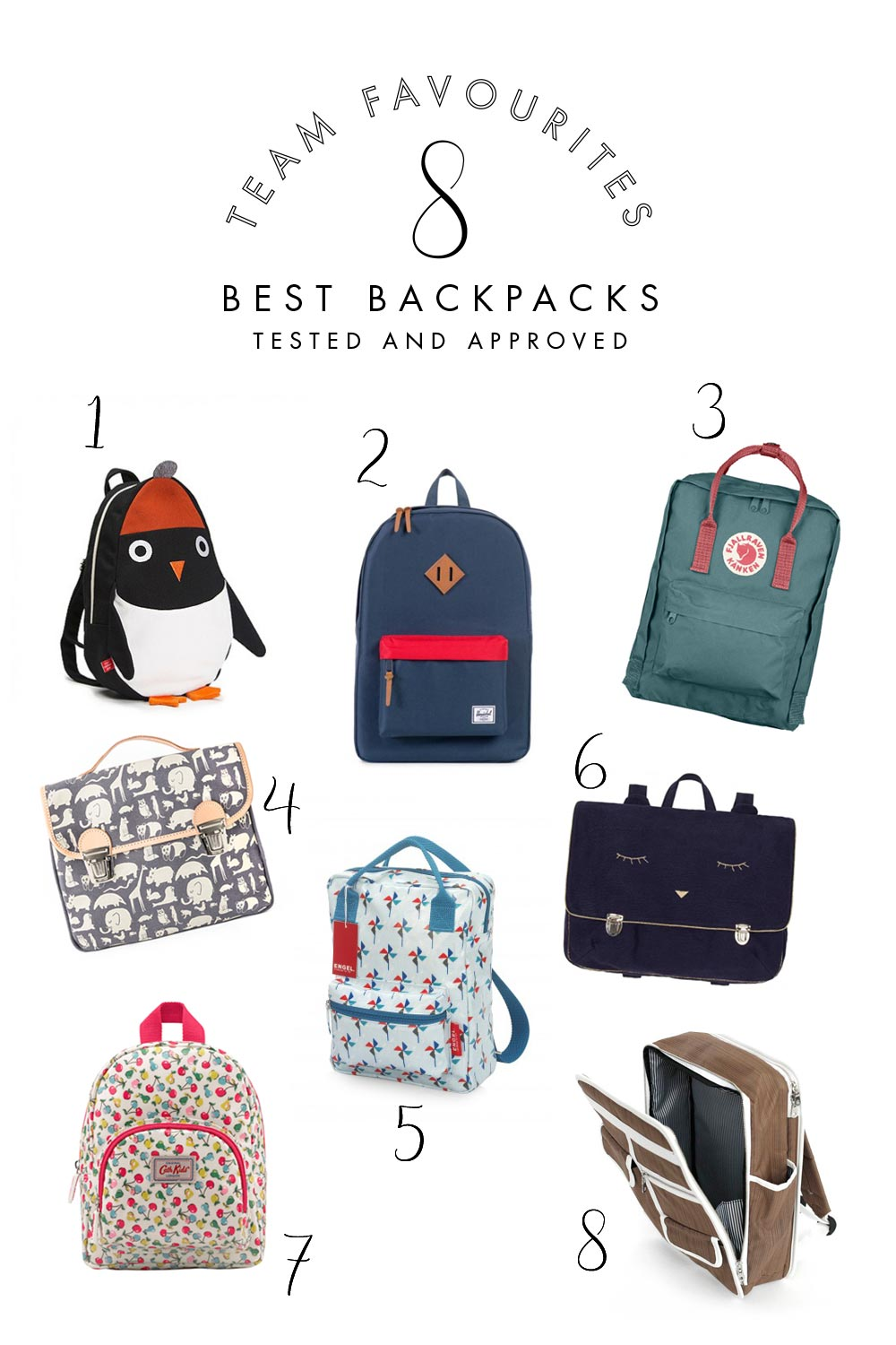 8 best backpacks