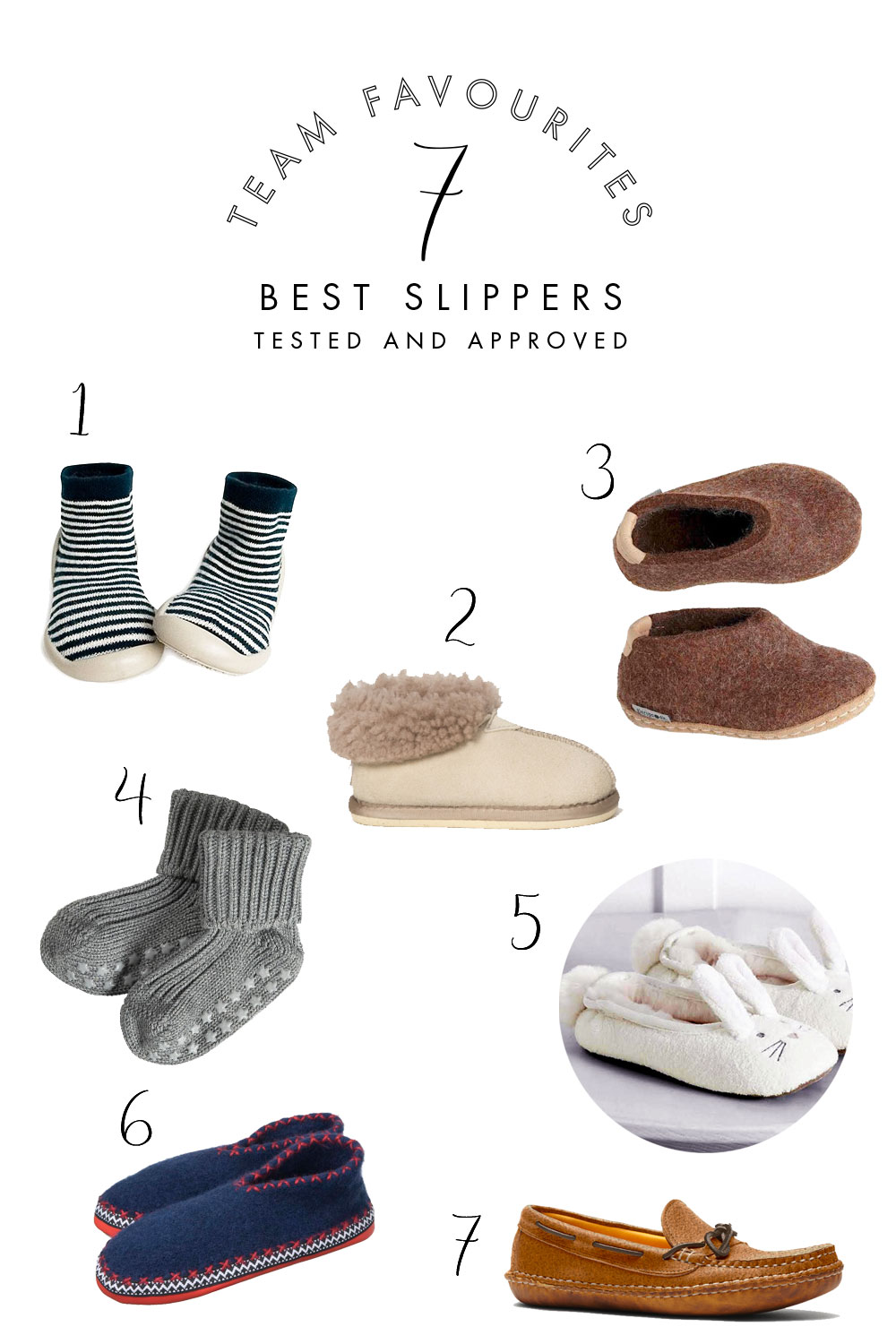 7 Slippers