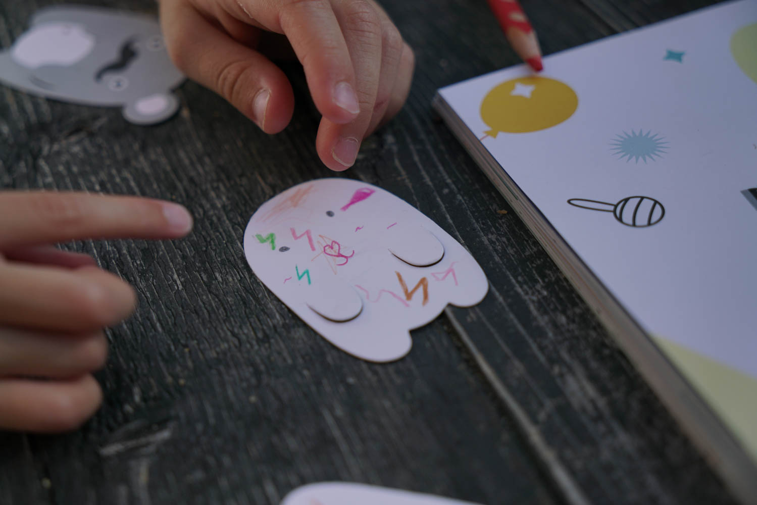 a day in rice ton activity book