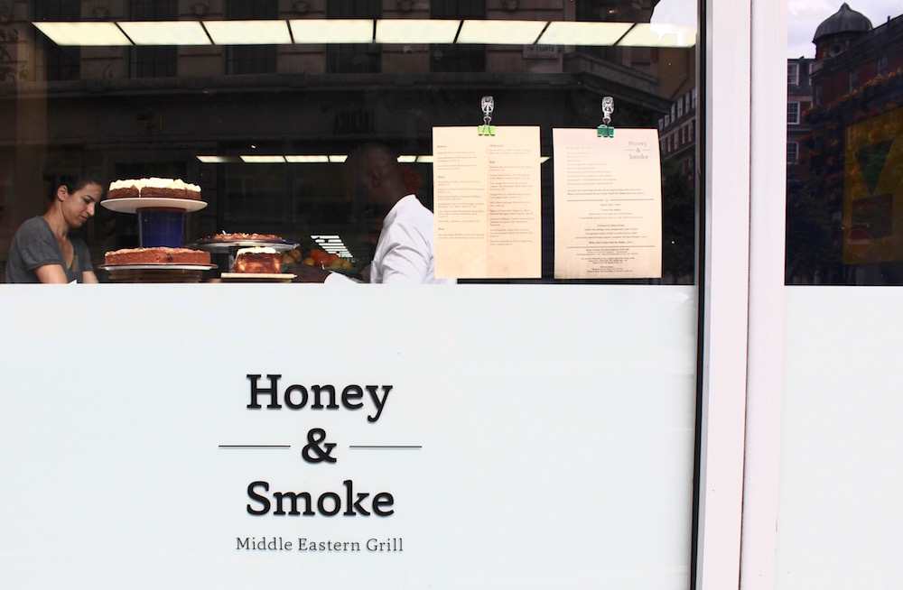 Honey and Smoke restaurant front