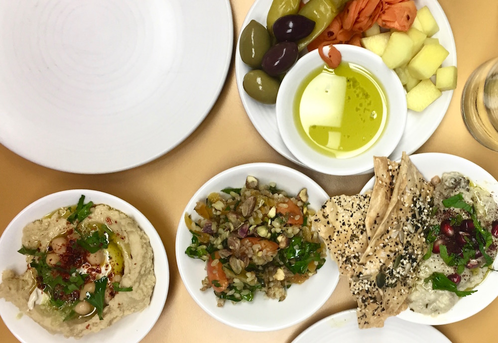 Honey and Smoke mezze dishes