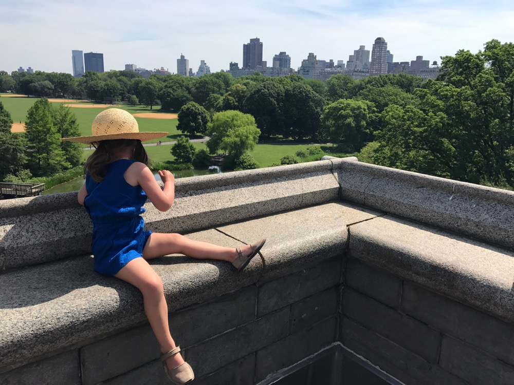 View from the top of Belvedere Castle