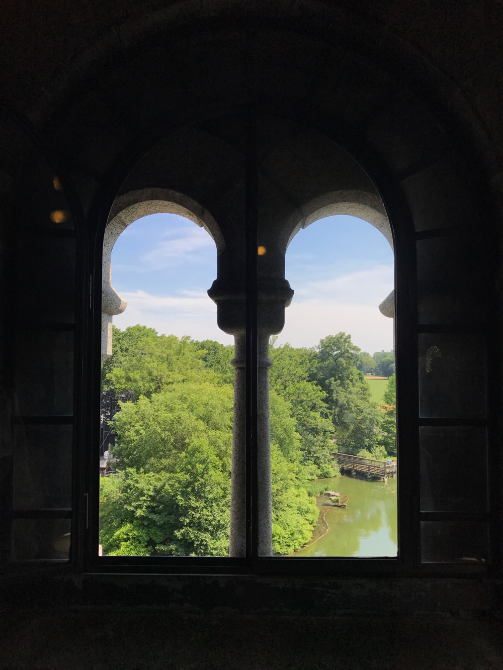 window of Belvedere Castle