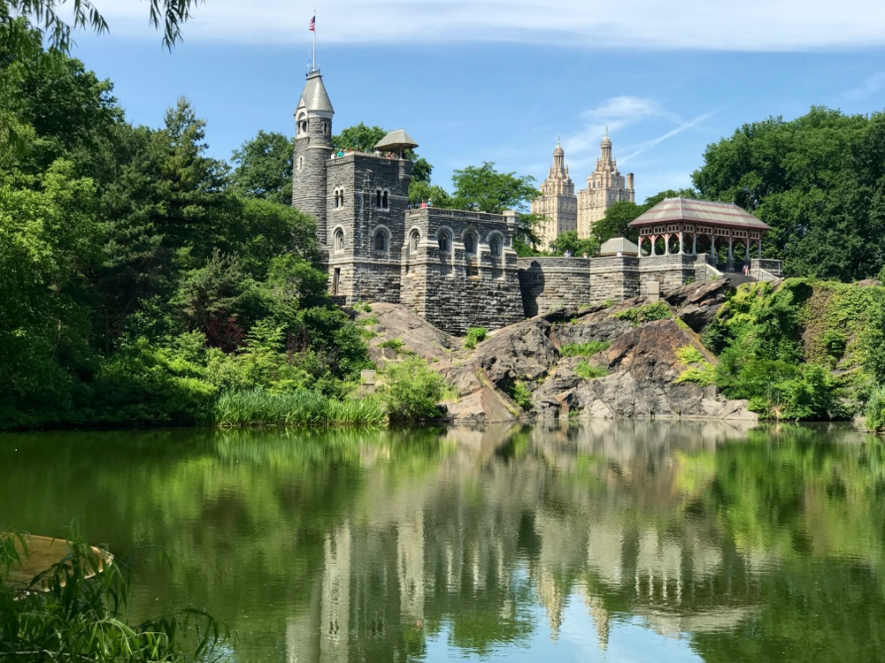 Belvedere Castle across Turtle Pond