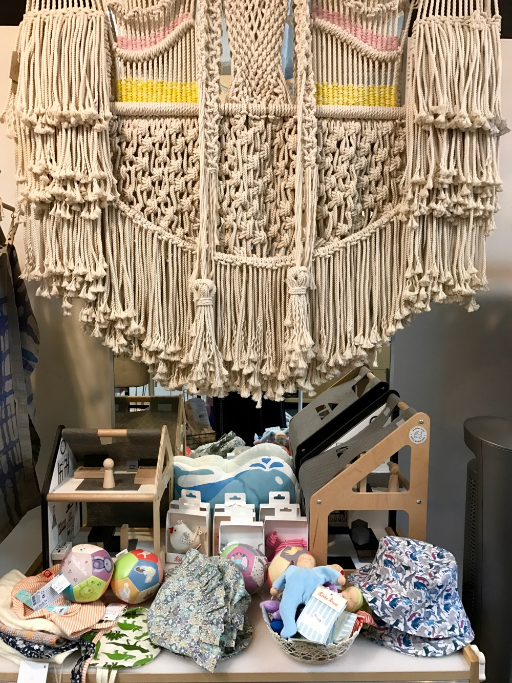 macrame at Dumbo Baby Brooklyn