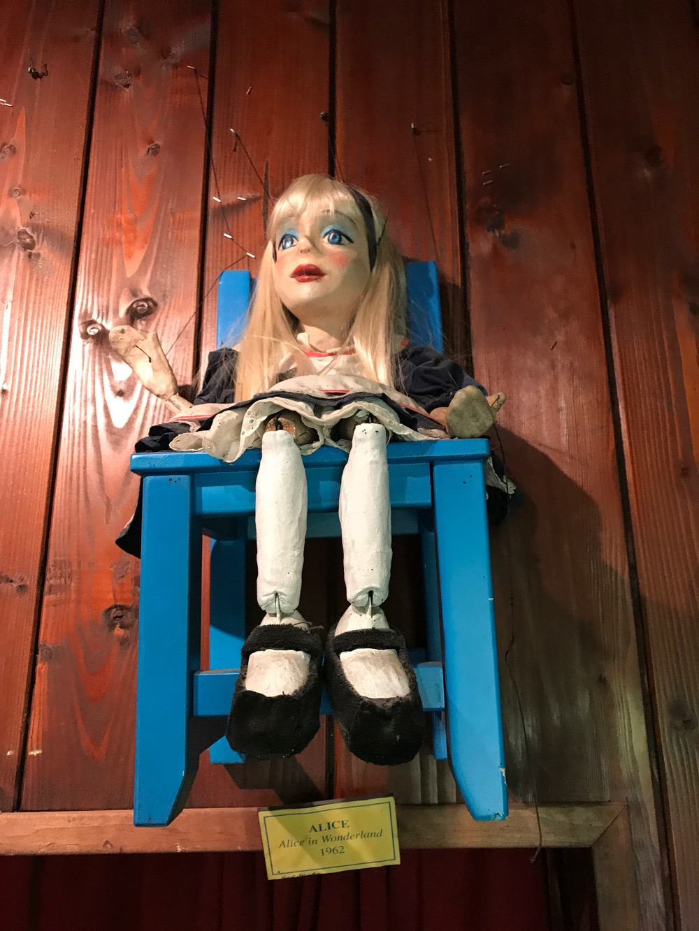 Cinderella puppet, Swedish Cottage Marionette Theater