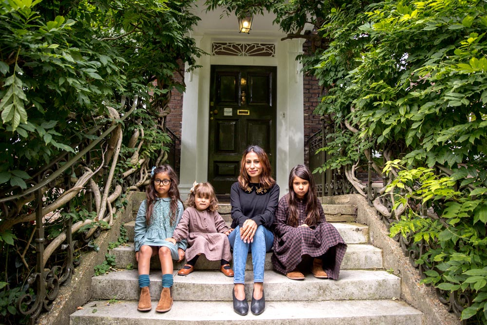 mother daughters steps hampstead