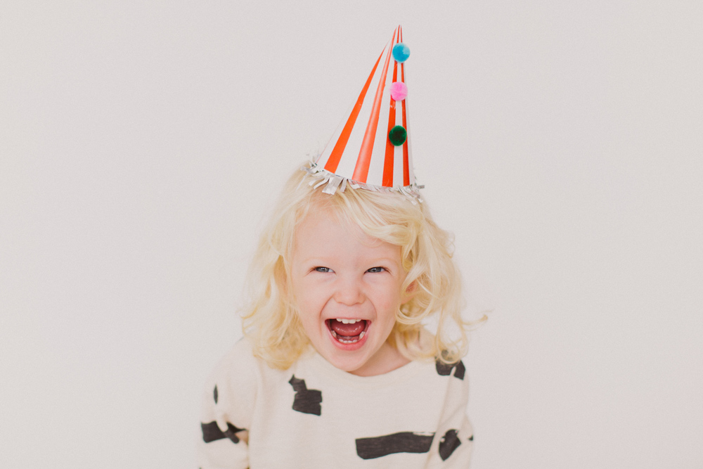 happy toddler birthday hat