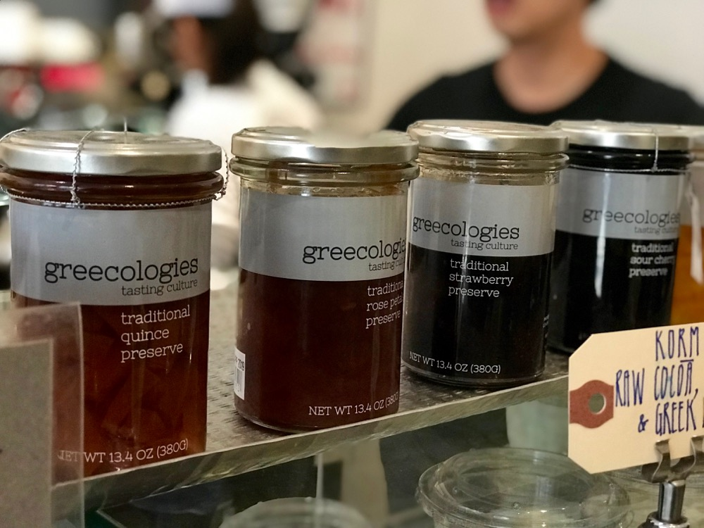 Preserves at the Greecologies counter