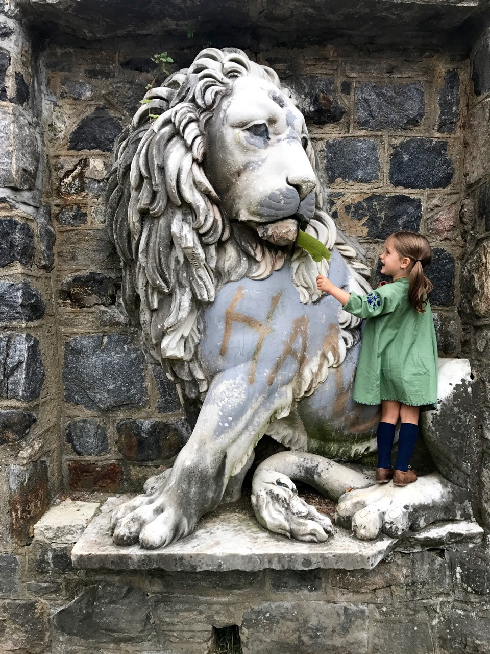 Lion at the Gatehouse