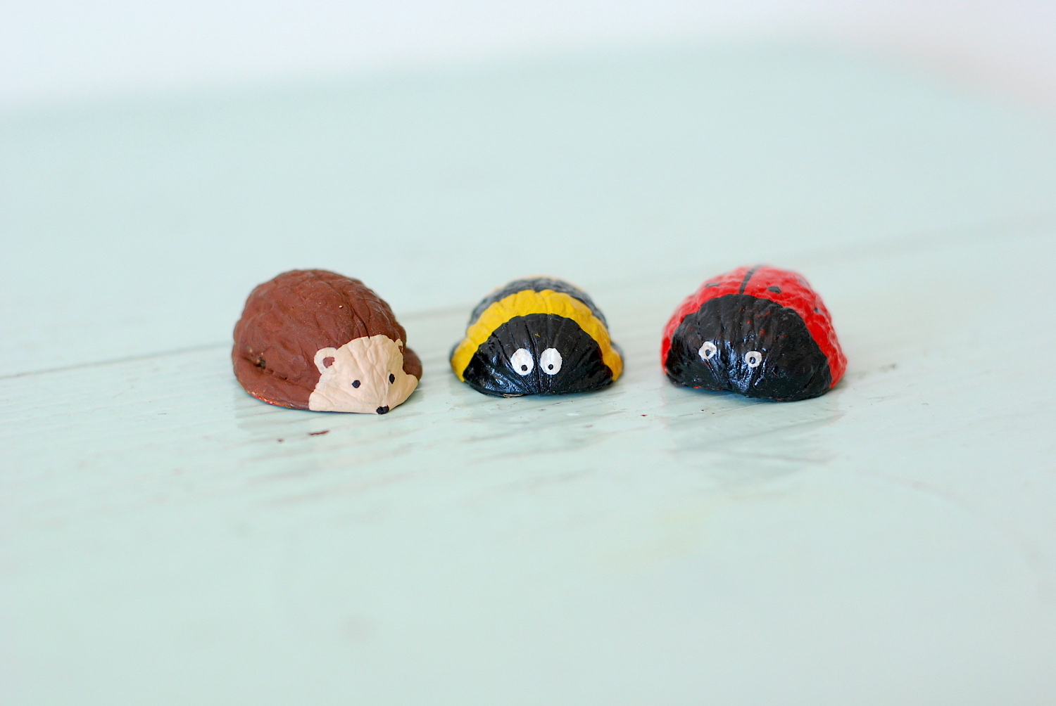 walnut shell animals