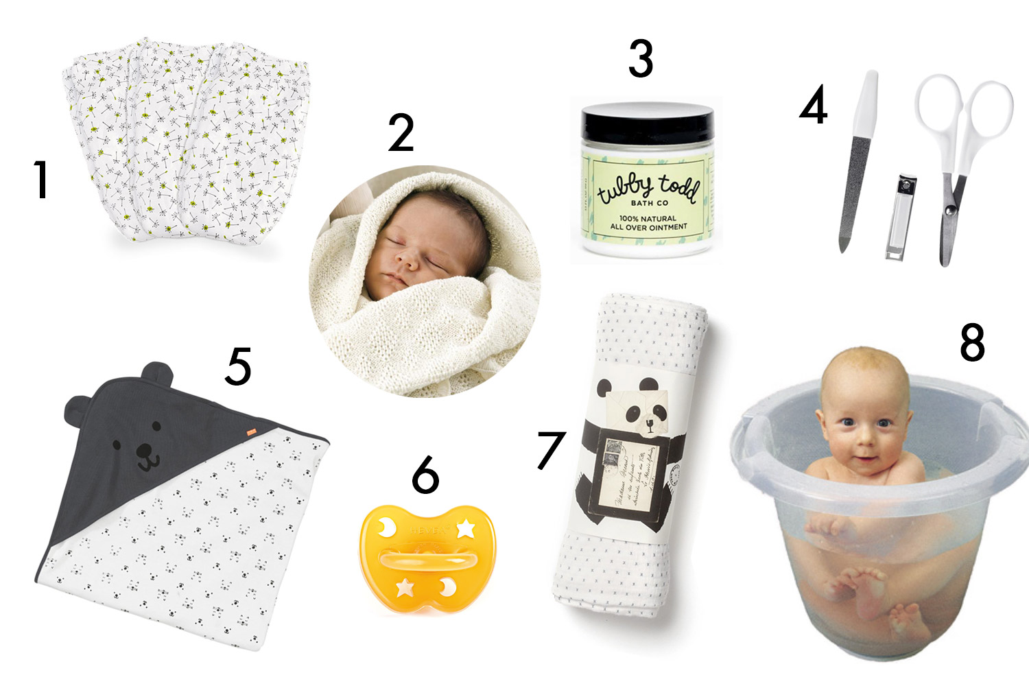 new baby essentials CARE