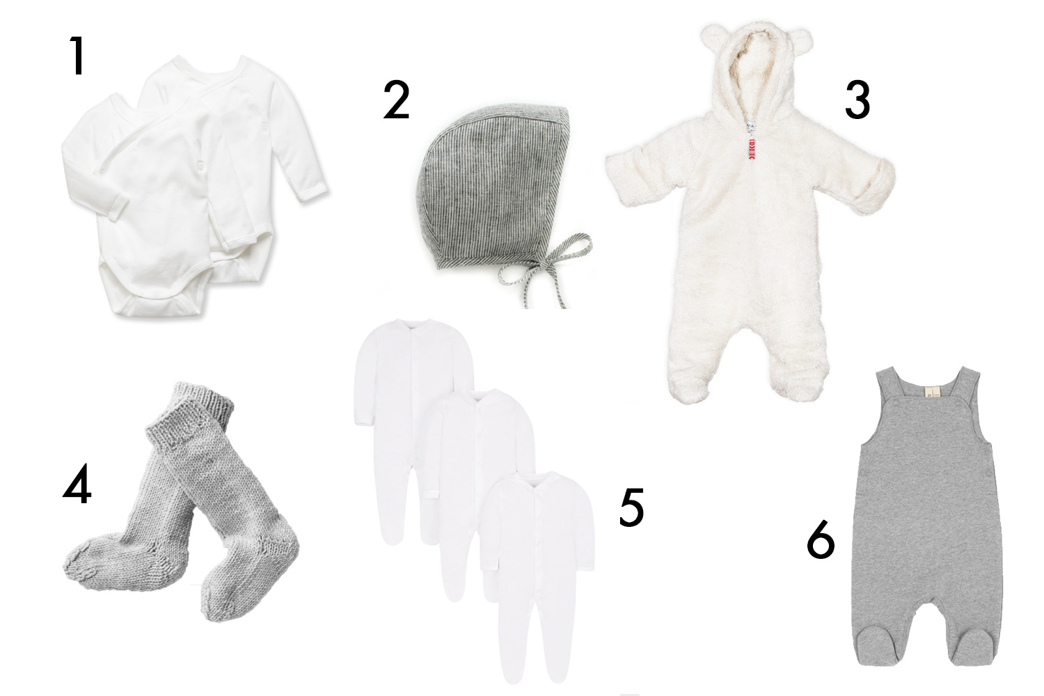 new baby essentials CLOTHES