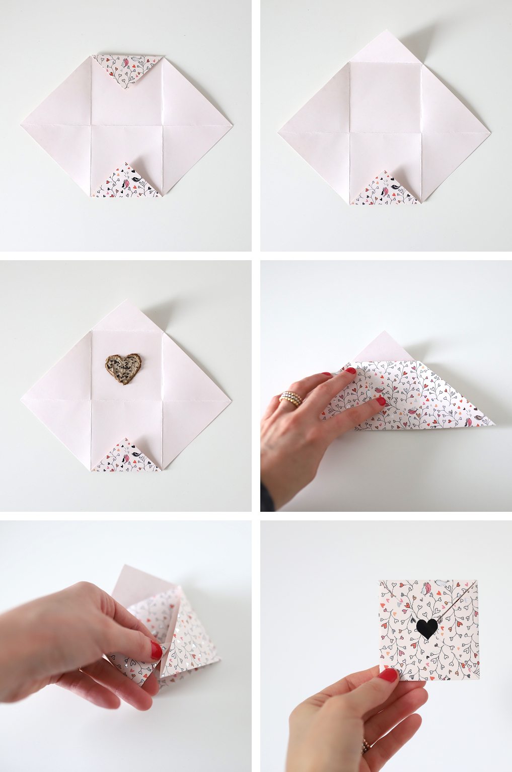 How to Make an Easy Origami Envelope | 1534x1017