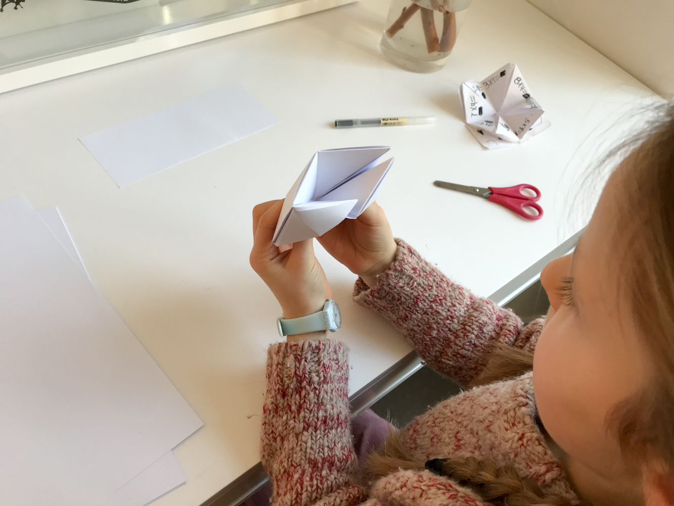 make a multiplication chatterbox