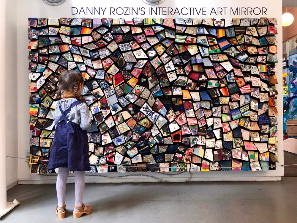 interactive art mirrors