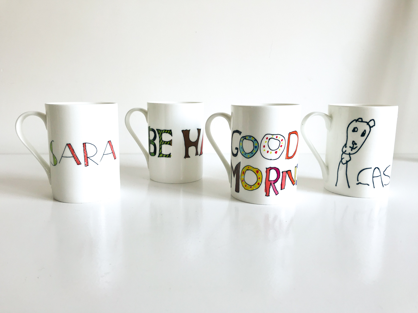 personalised mugs by Quirky Lime