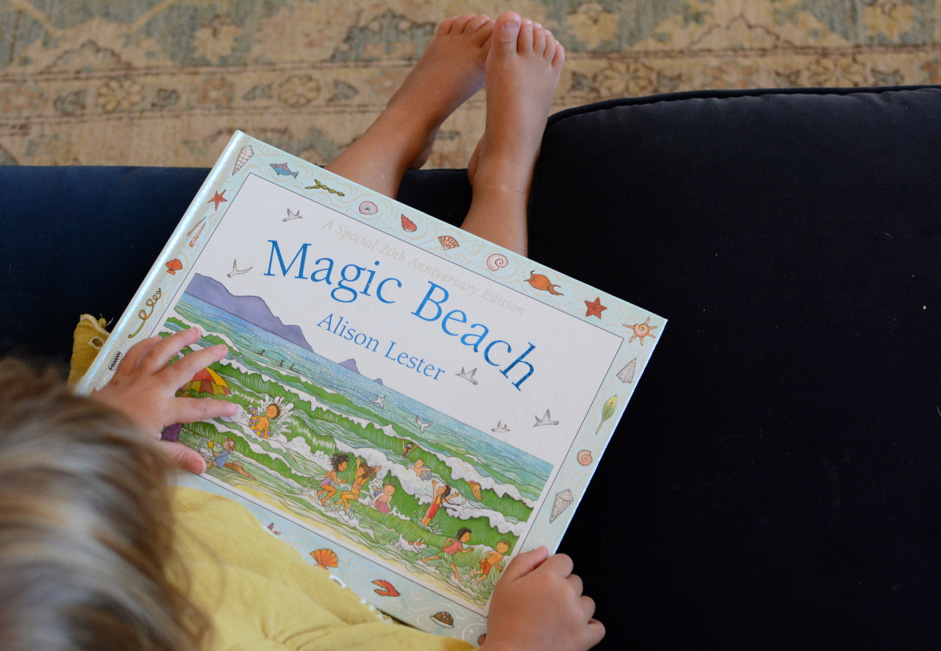 'Magic Beach' a beautiful picture book by Alison Lester Babyccino Kids: Daily tips, Children's