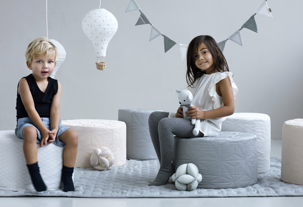 copenhagen danish children design quilt seat lamp
