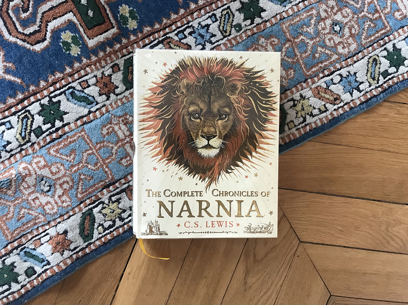 reading to older children - Narnia
