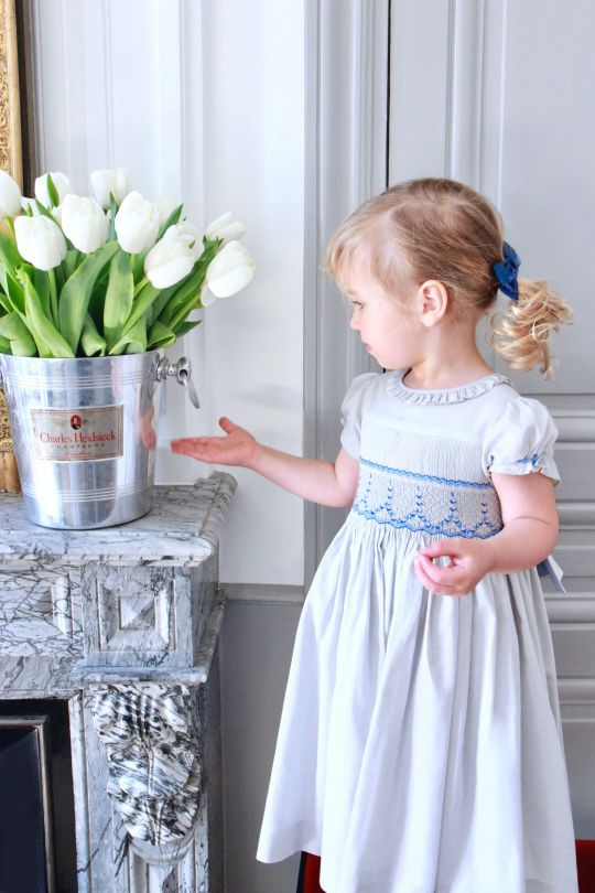 smock dresses by Charlotte Sy Dimby
