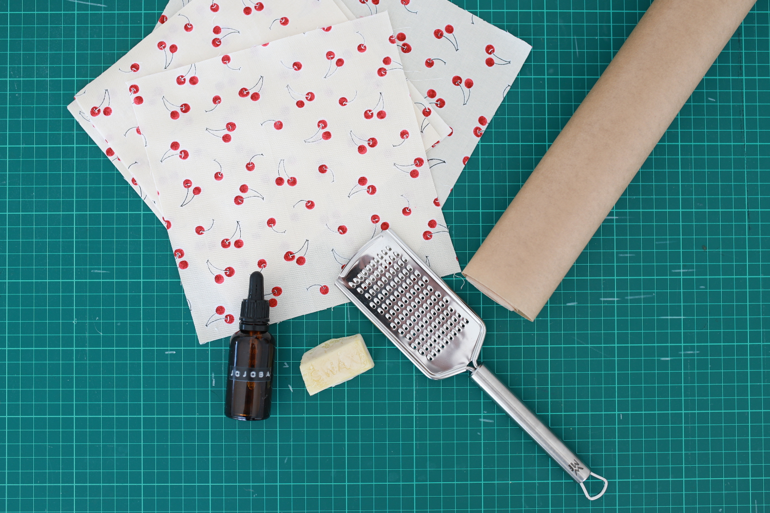 How to make beeswax foodwraps