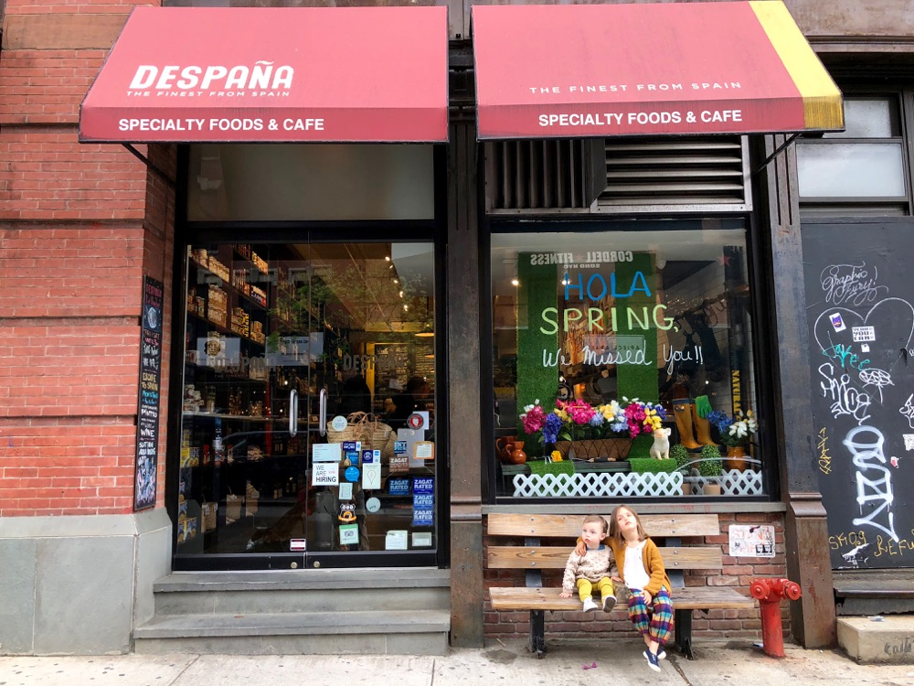 Despana storefront on Broome Street