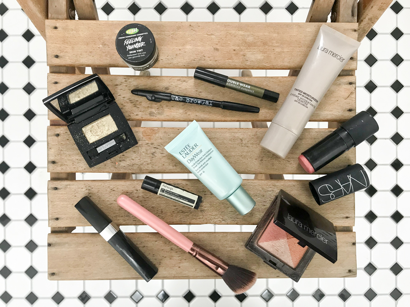 skincare and make-up products I like to use