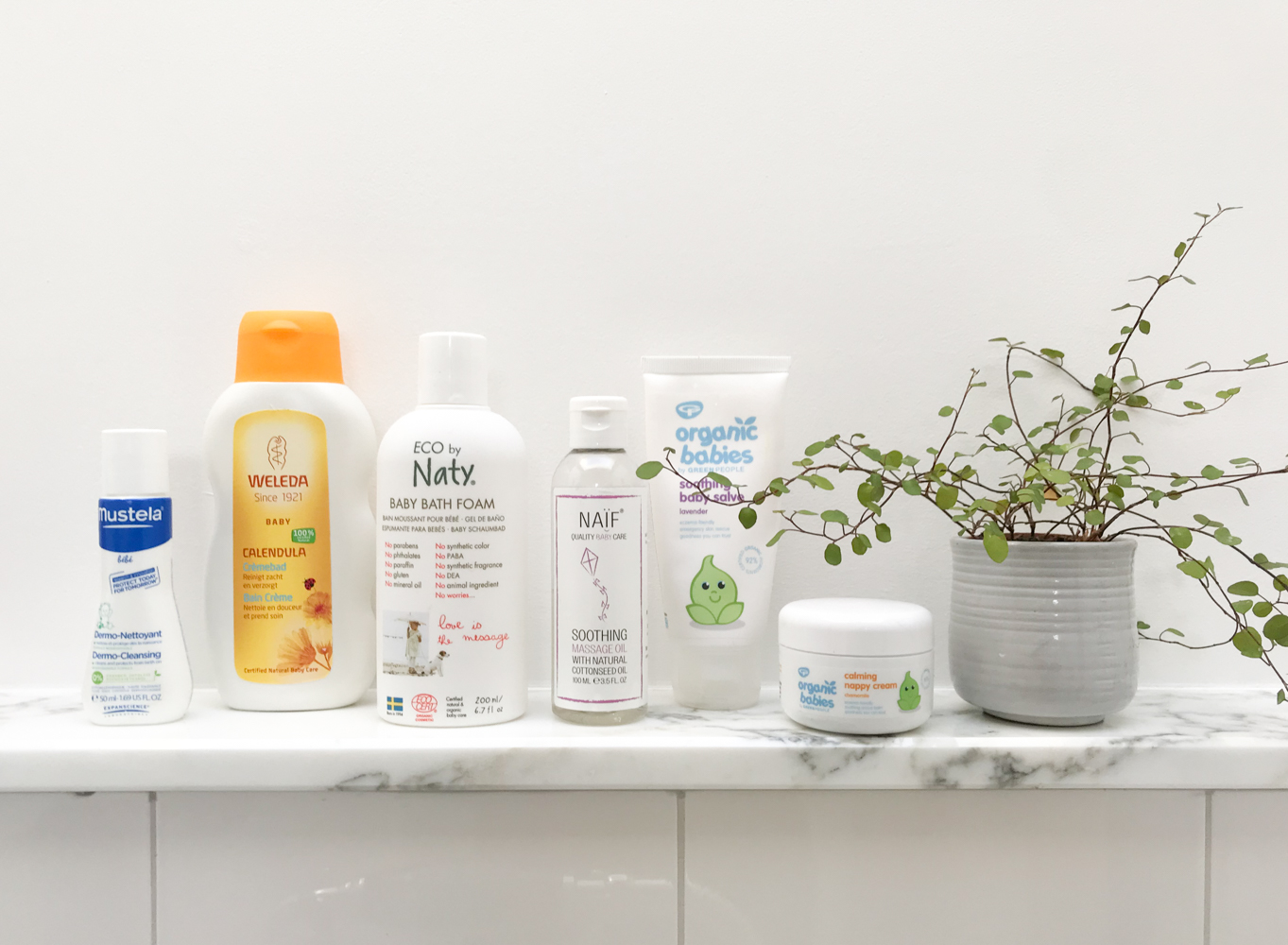 favourite baby skincare products
