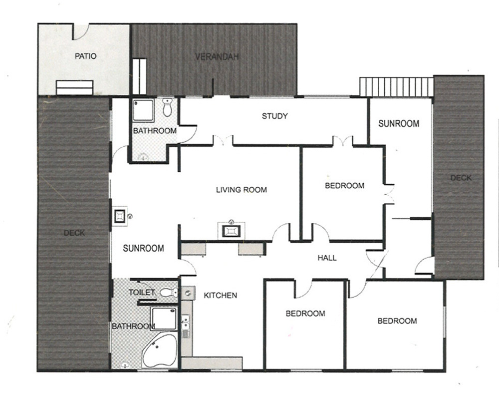 Our Home Renovation Creating A For Seven In Byron Bay Can Bus Schematic Diy By Christina Picture I Knew That If We Could Put Kitchen At The Back Of House Where Bathroom Was With Views Onto Garden So Watch Kids Play While