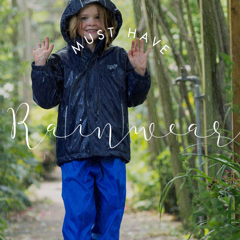 Babyccino Product guides rainwear