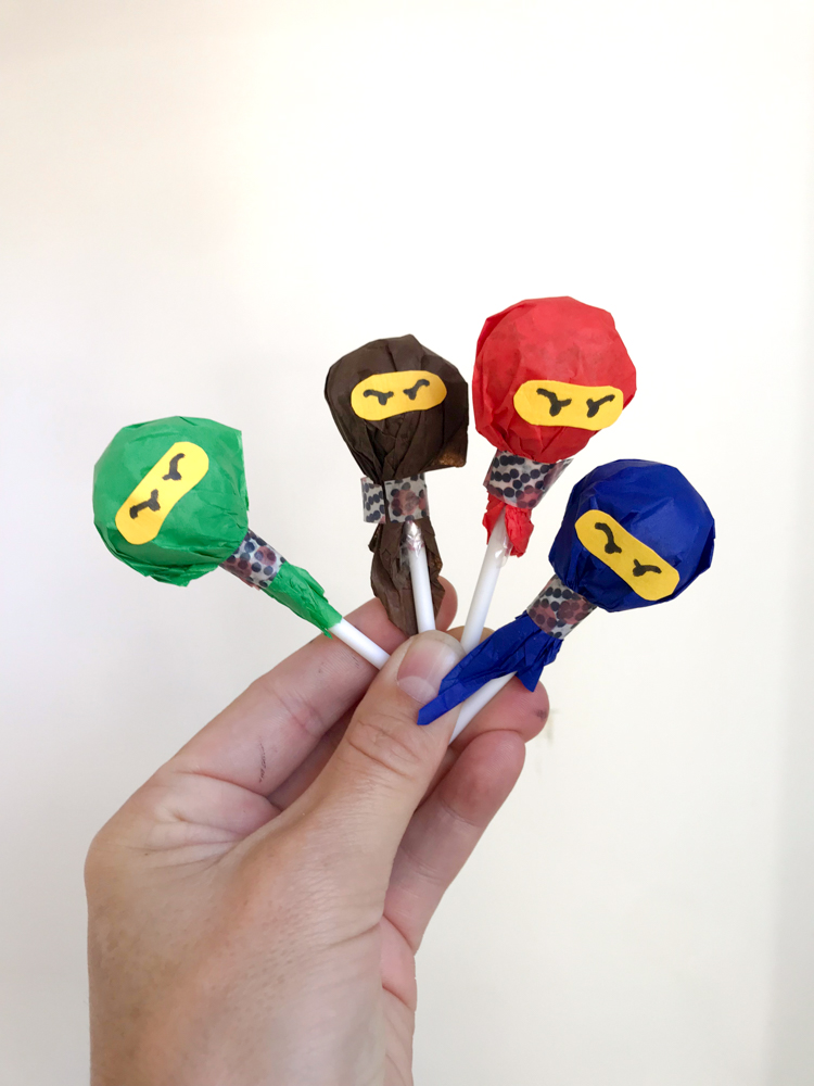 ninjago lollies