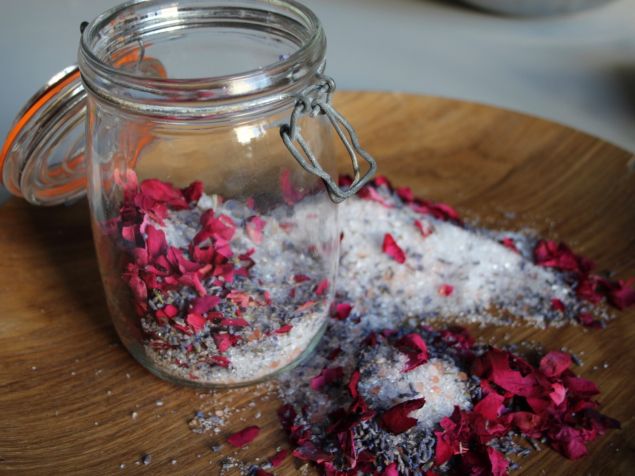 Rose & Lavender Bath Soak - great for
