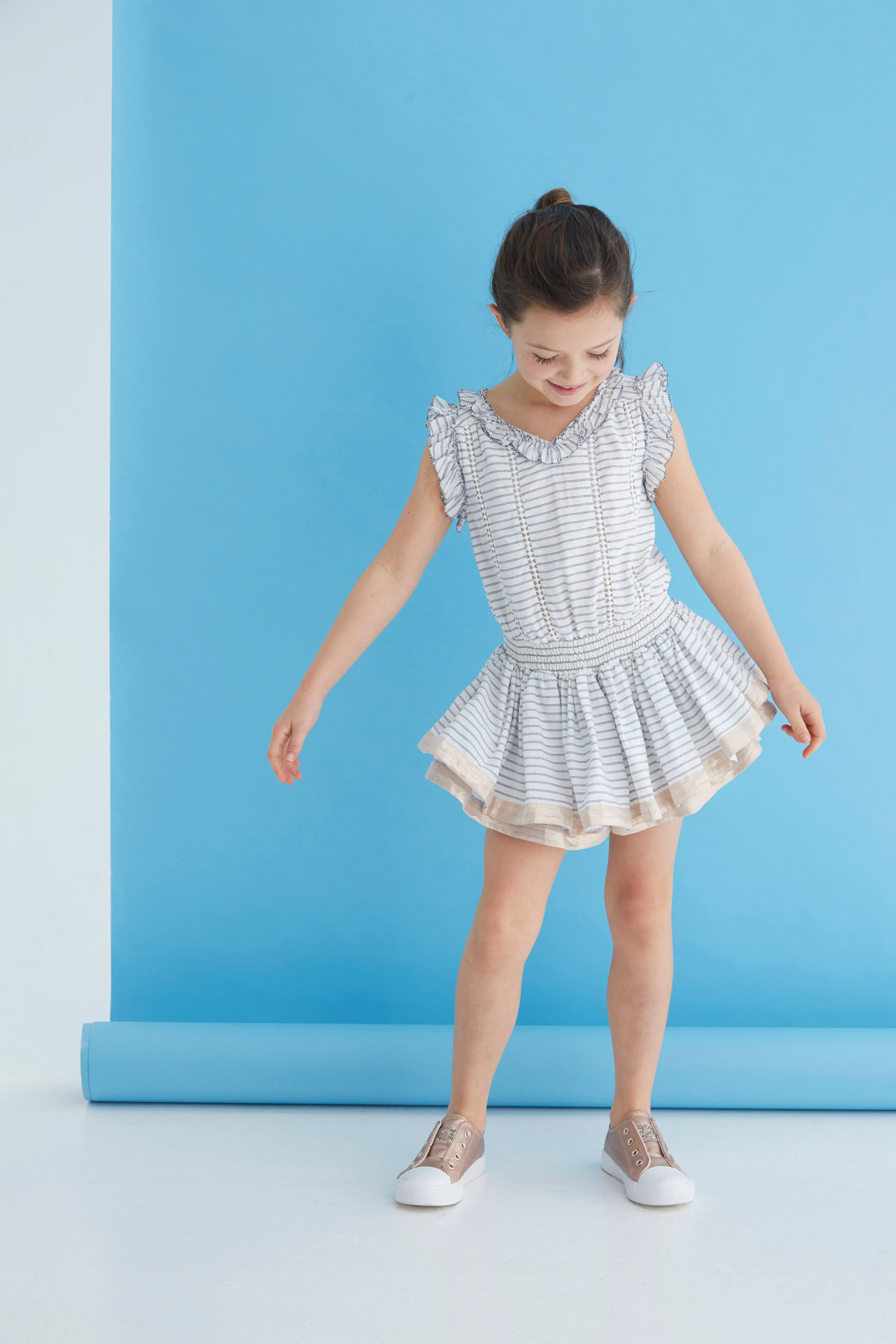 girls fashion playsuit