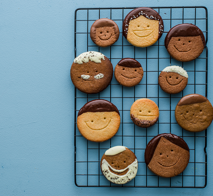 Funny Little Face cookies