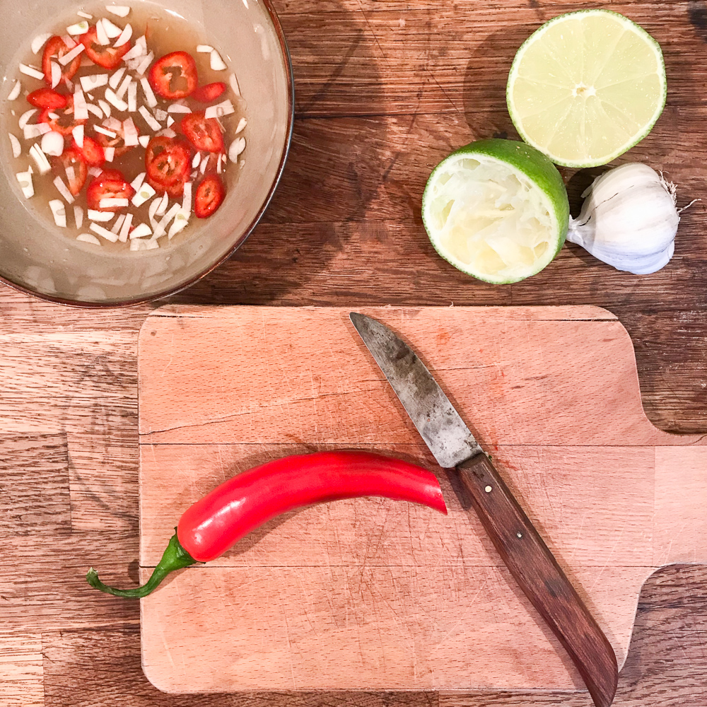 Nuoc Cham dipping sauce